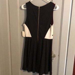 Double Zero Dresses - Black red and white dress